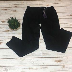 NWT NYDJ black Alina /Leggings High Waist - Size 6